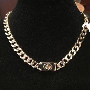 Coach choker necklace